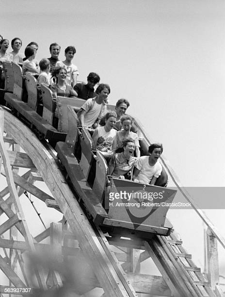 1960s ROLLER COASTER...