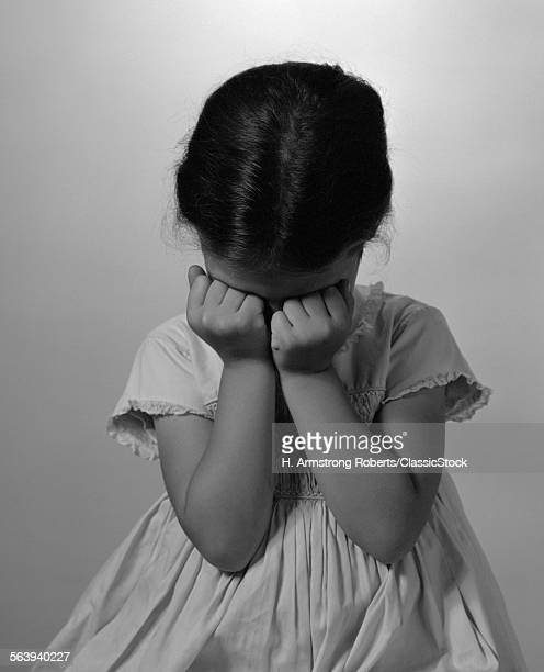 1960s SAD LITTLE GIRL...
