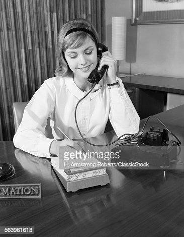1960s Secretary Stock Photo | Getty Images