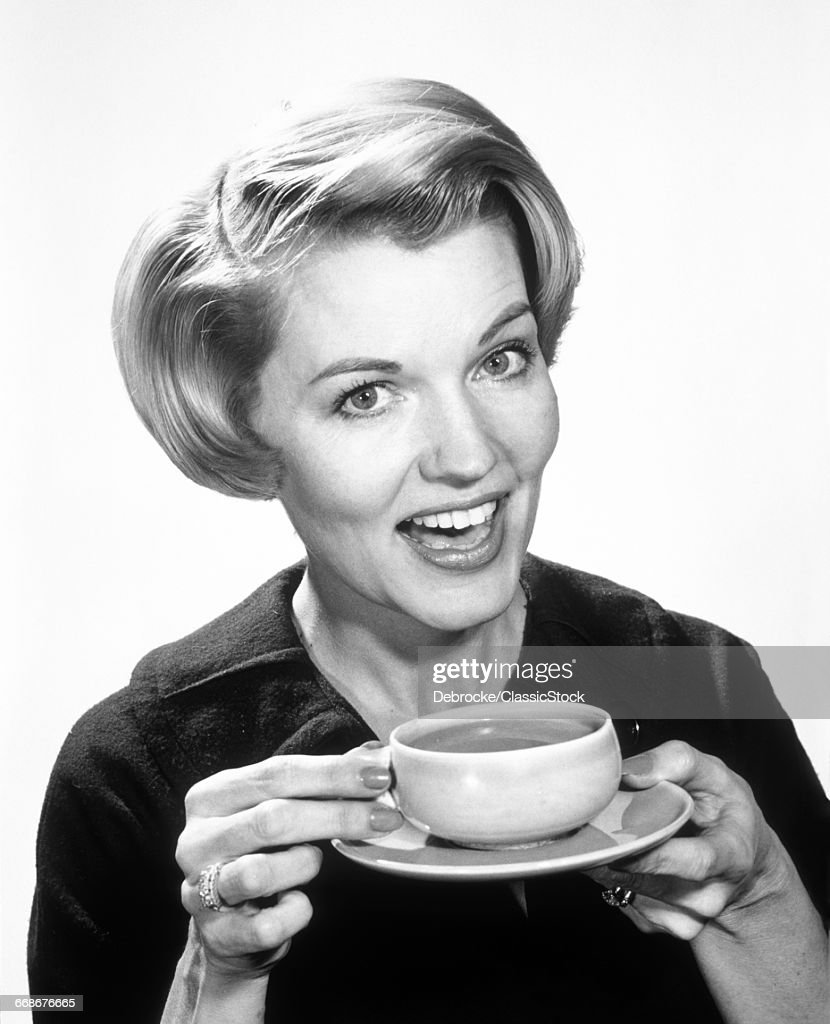 1960s SMILING WOMAN... : Stock Photo
