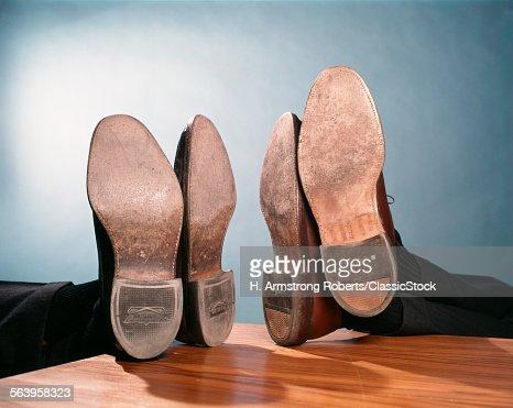 1960s SOLES AND HEELS OF...