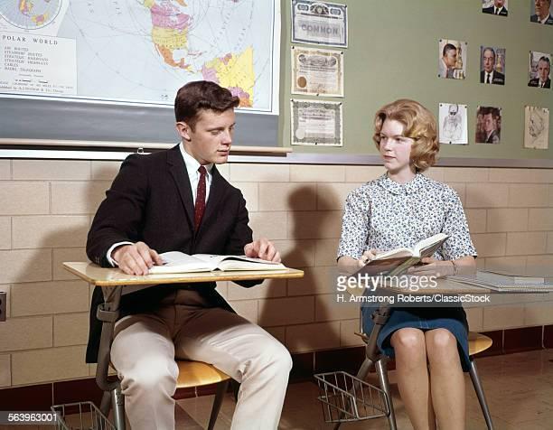 1960s TEENAGE BOY GIRL...