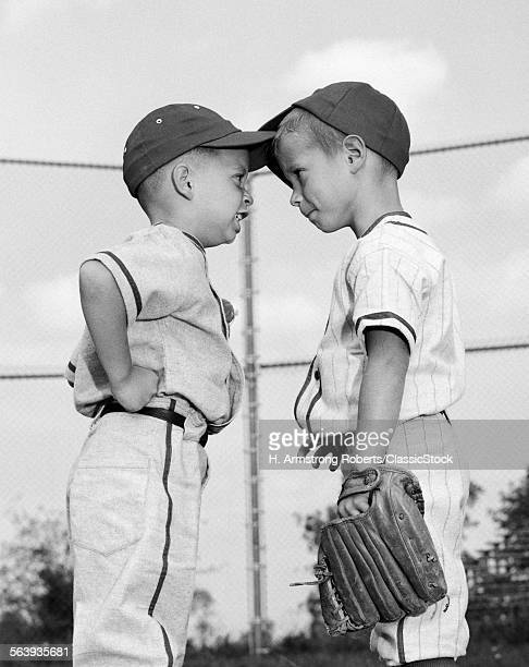 1960s TWO BOYS PLAYING...