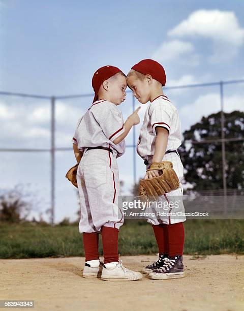 1960s TWO BOYS WEARING...