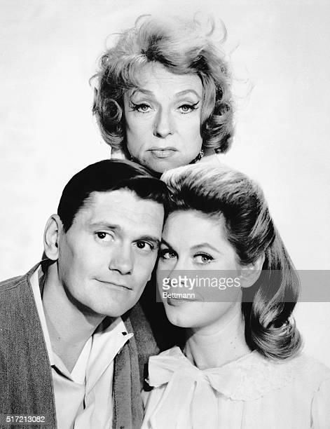 1965Stars of the ABCTV program Bewitched starring Elizabeth Montgomery Dick York and Agnes Moorhead Ran from 19641972
