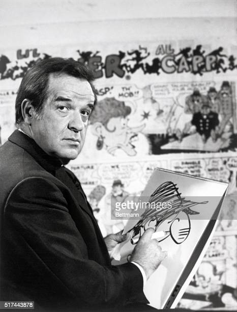 1970New York New York Al Capp creator of 'Dogpatch USA' that microcosm of America has decided to retire taking the entire Yokum family with him