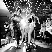 1970s 1980s COUPLE DISCO...