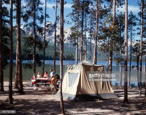 1970s 1980s FAMILY CAMPING...