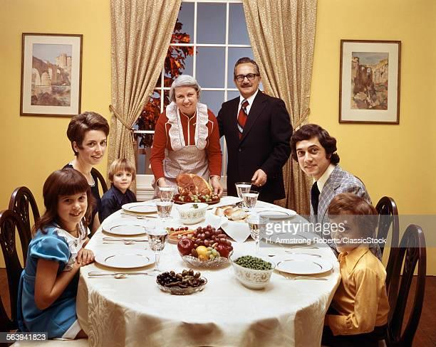 1970s 3 GENERATION FAMILY...