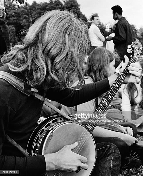 1970s ANONYMOUS HIPPIE...