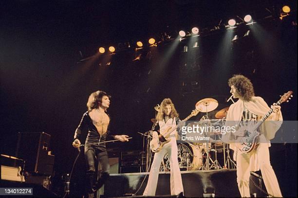QUEEN 1970s Freddie Mercury John Deacon Brian May