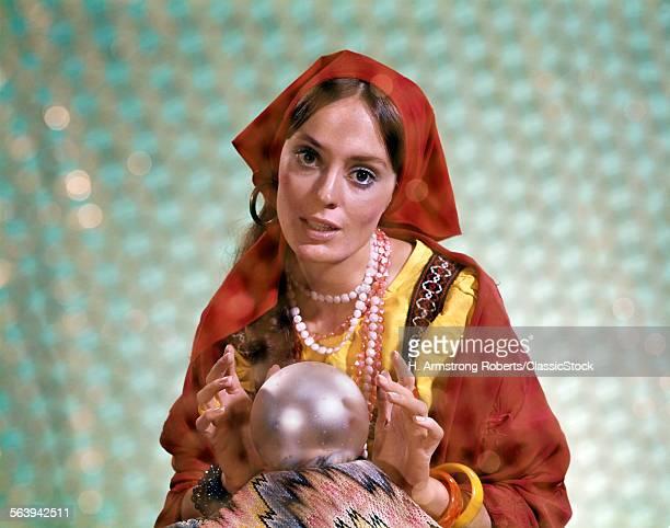1970s GYPSY WOMAN...