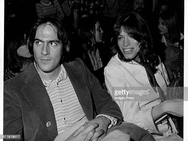 James Taylor and Carly Simon in New York City circa 1970s