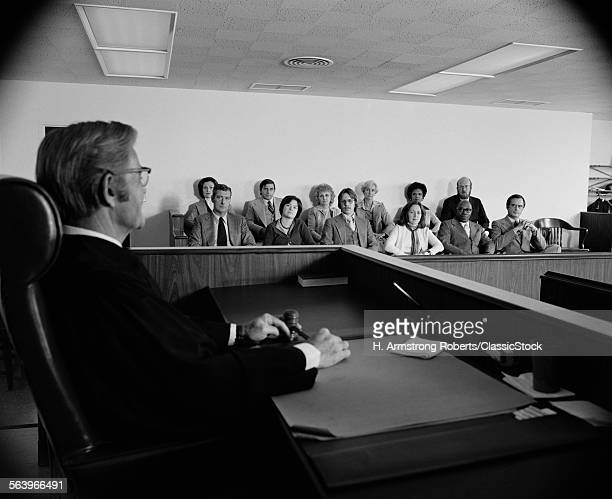 1970s JUDGE ADDRESSING...