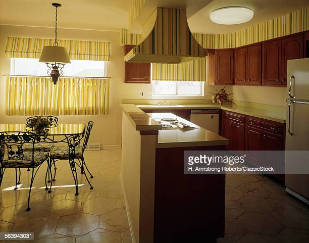 1970s KITCHEN AND DINING...