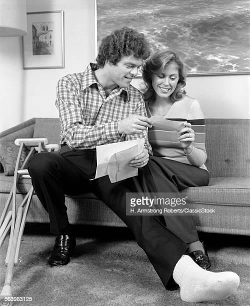 1970s MAN AND WOMAN BROKEN...