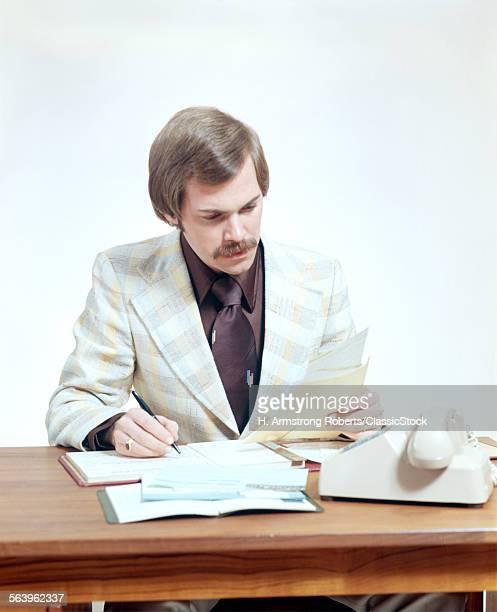 1970s MAN BUSINESS...