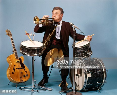 1970s ONE MAN BAND WITH...