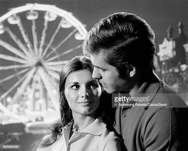 1970s PORTRAIT OF ROMANTIC...