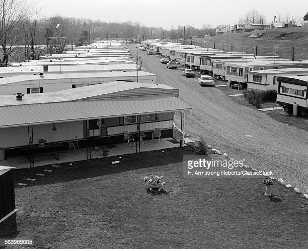 1970s TRAILER PARK WITH...