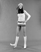 1970s WOMAN WEARING HOT...