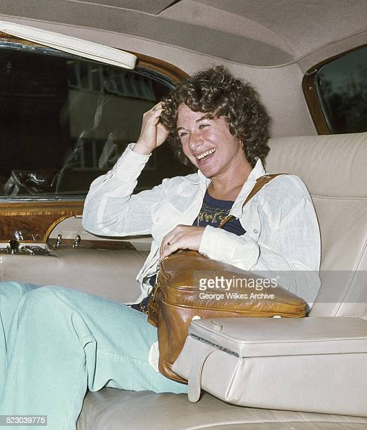 Grammy Award winning American singer songwriter Carole King photographed in London while promoting her successful Tapestry album