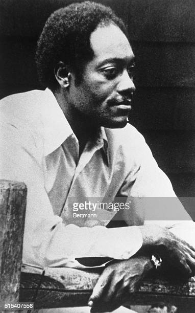 1977Waistup photograph of author James Alan McPherson winner of the Letters and Drama Pulitzer prize