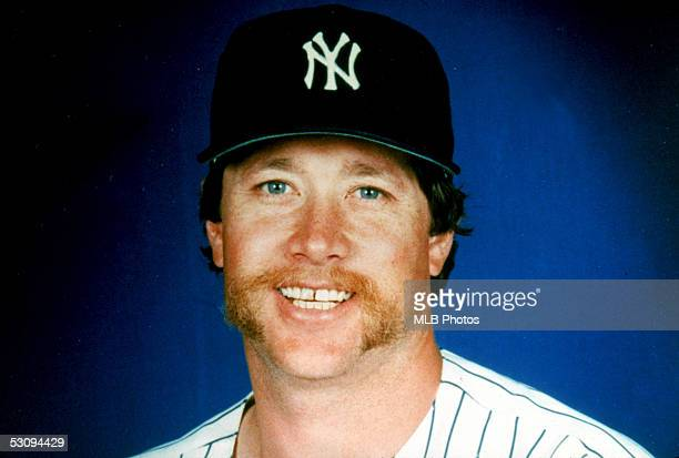 Rich 'Goose' Gossage of the New York Yankees poses for a circa 1980s publicity photo Gossage played for the Yankees from 197883