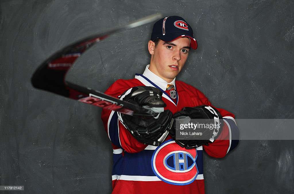 198th overall pick Colin Sullivan by the Montreal Canadiens poses for a portrait during day two of the 2011 NHL Entry Draft at Xcel Energy Center on June 25, 2011 in St Paul, Minnesota.