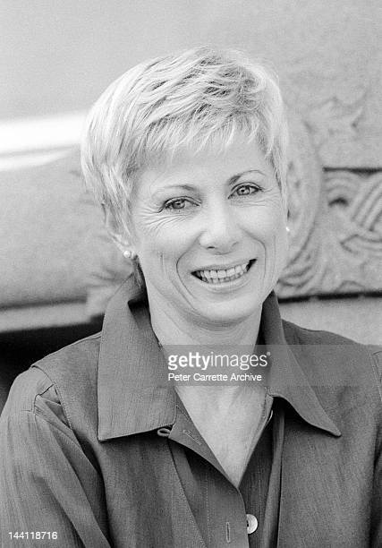 Australian actress Elspeth Ballantyne who appears in the television soap opera 'Neighbours' in the 1990s in Sydney Australia