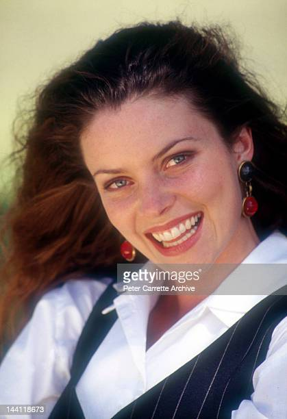 Australian actress Rachel Blakely who appears in the television soap opera 'Neighbours' in the 1990s in Sydney Australia