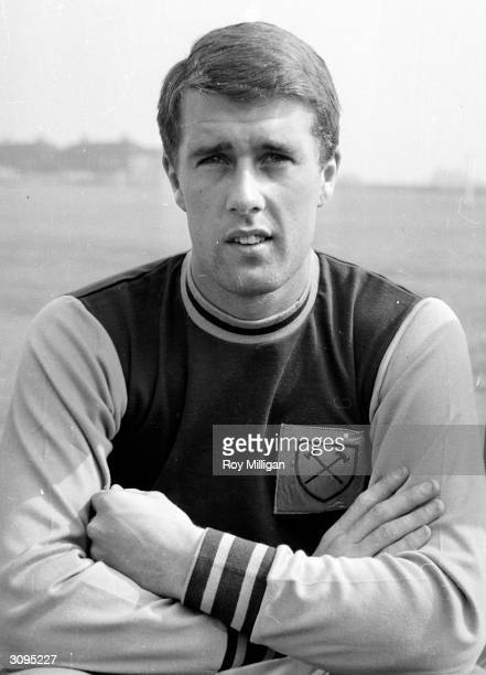 West Ham FC and England footballer Geoff Hurst the only player to score a hattrick in a World Cup final