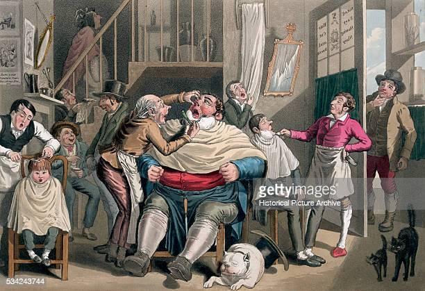 19th Century British Illustration Entitled Sunday Morning