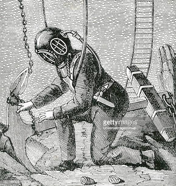 19th century underwater diving