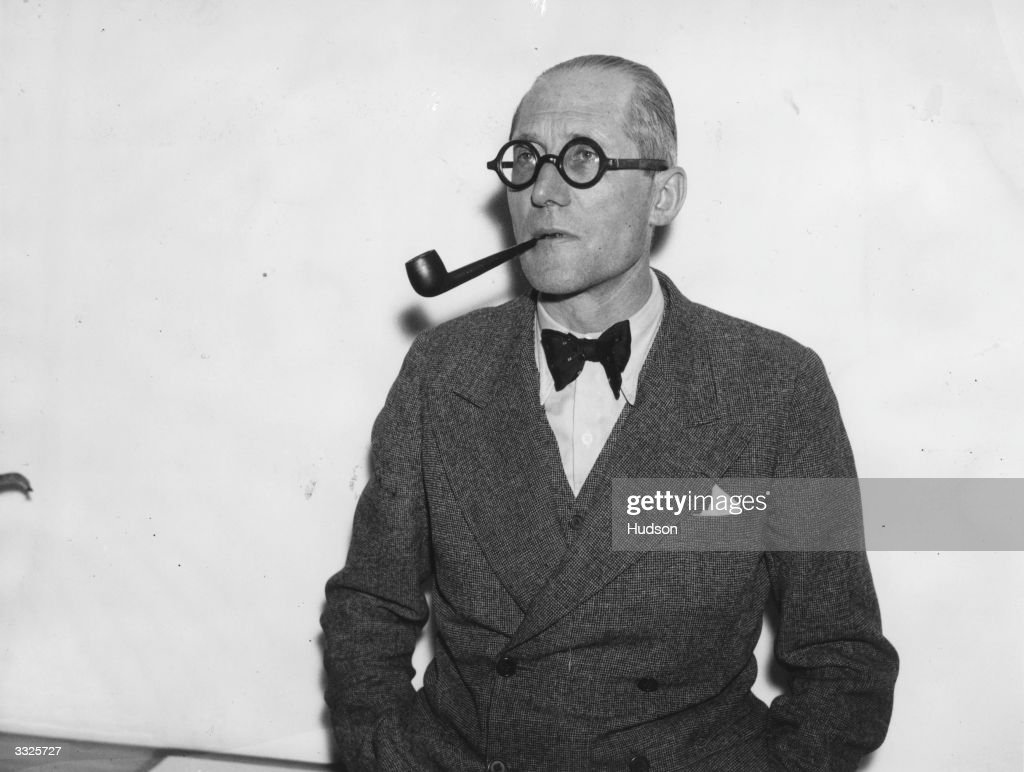 French Architect le corbusier pictures | getty images