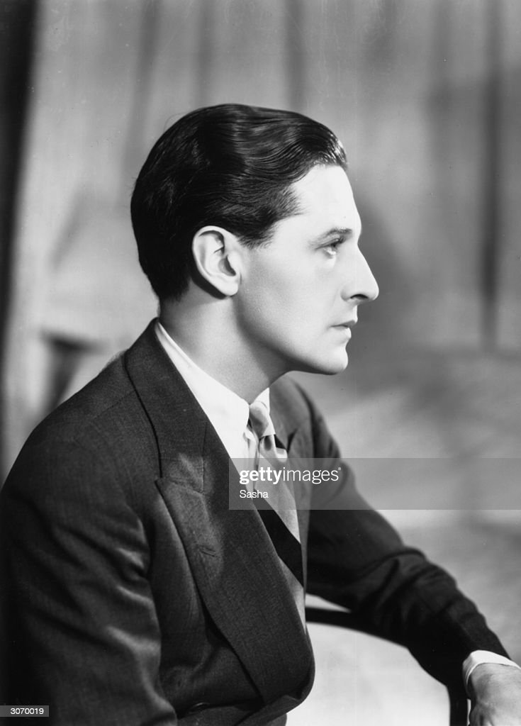 Welsh actor dramatist and composer Ivor Novello at the Queen's Theatre for an appearance in 'Downhill'