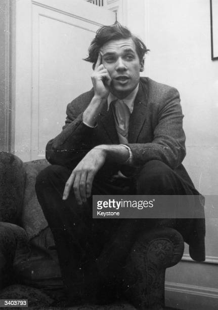 Canadian pianist composer and writer Glenn Gould during rehearsals at the Royal Festival Hall London