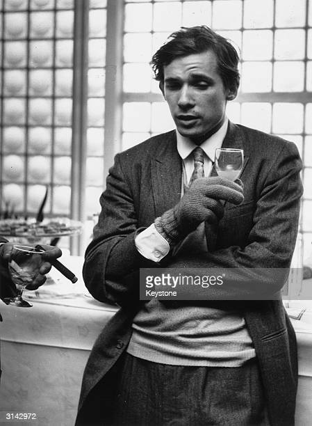 Glenn Gould's idiosyncratic approach to classical music brought both praise and critisicm in equal parts Here he is pictured wearing woollen gloves...