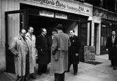 Car dealers of Warren Street London Original Publication Picture Post 4925 Car Dealers Of Warren Street pub 1949