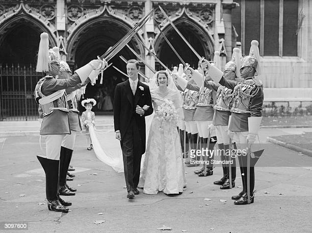 Marquess of Blandford marries Susan Hornby