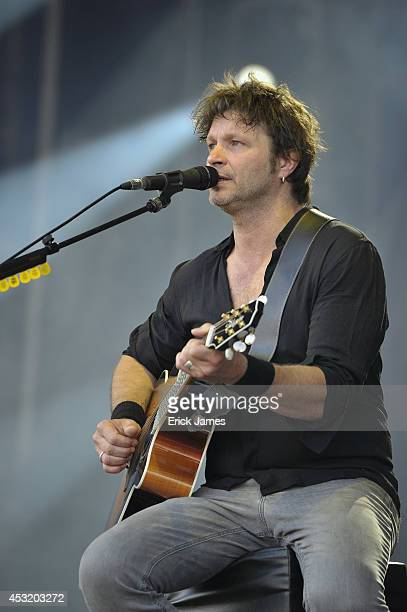 JULY 19th2014 Detroit performs live during the Music Festival des Vieilles Charrues on July 19th 2014 in Carhaix France