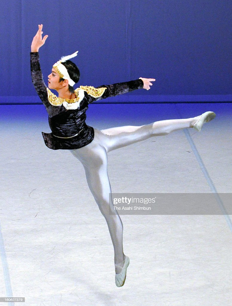 19-year-old Masaya Yamamoto performs during the Prix de Lausanne at Beaulieu Theatre on February 2, 2013 in Lausanne, Switzerland. Yamamoto won 3rd place.