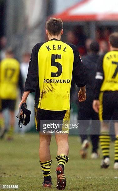 Bundesliga 02/03 Moenchengladbach Borussia Moenchengladbach Borussia Dortmund Sebastian KEHL/Dortmund