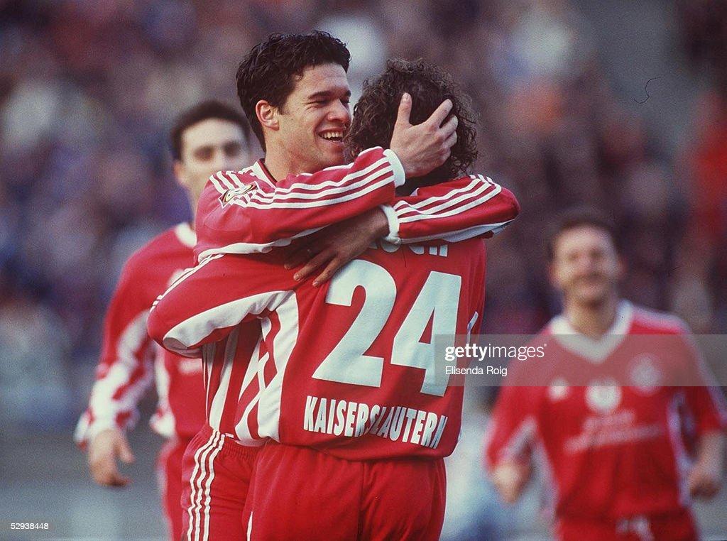 Bundesliga 98/99 HERTHA BSC BERLIN 1 FC KAISERSLAUTERN 11 01 durch Michael BALLACK