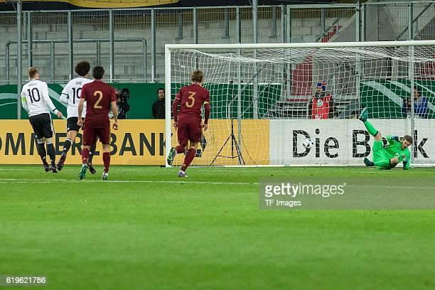 1Ingolstadt Deutschland U21EMQualifikation 2017 Deutschland Russland Maximilian Arnold erzielt das 42 per Elfmeter