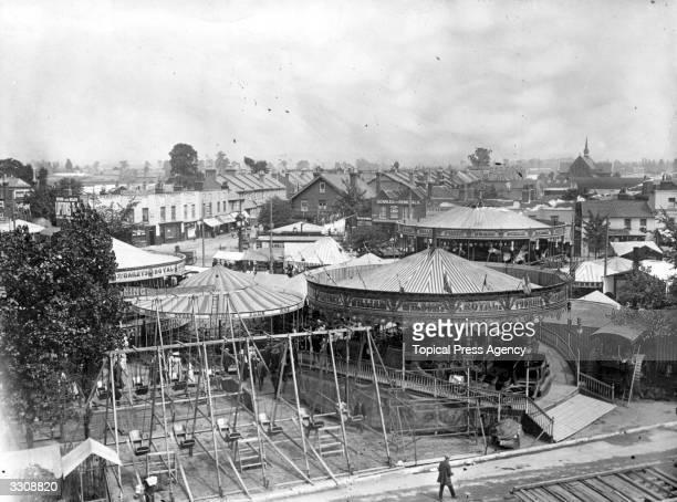A general view of Mitcham Fair Surrey