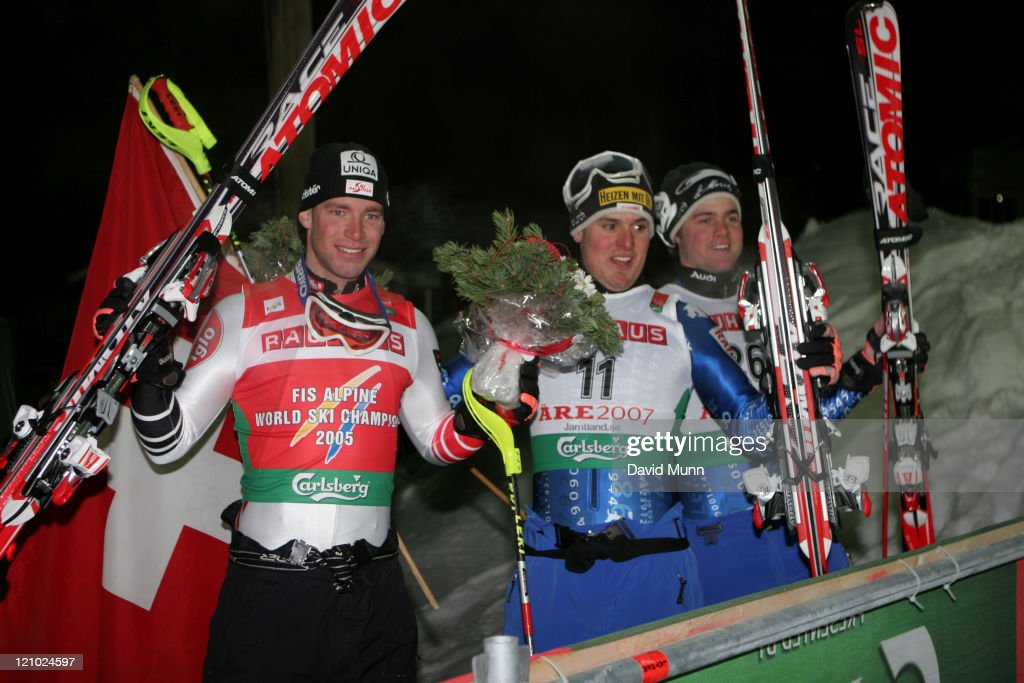FIS 2007 Alpine World Championships  - Men's Combined Downhill and Slalom -