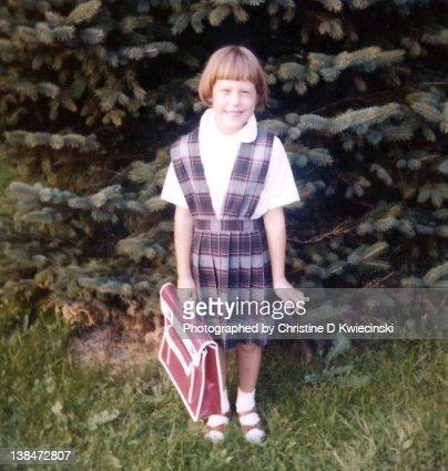 1st Day of Catholic School 1977