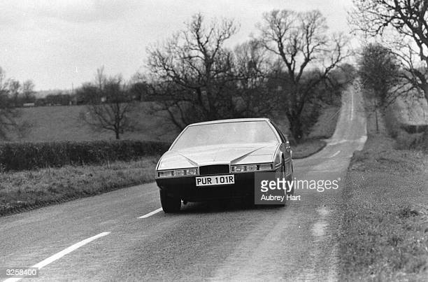 The latest Aston Martin the Lagonda