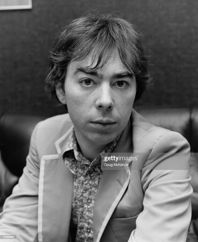 Popular English composer of musicals Andrew Lloyd Webber.